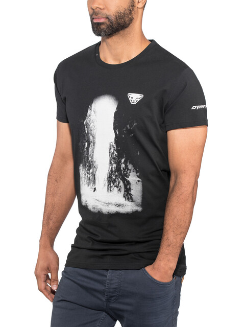 Dynafit Graphic CO SS Tee Men black out/holzer